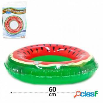Boia inflável de cintura melancia - 60 cm