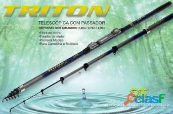 Conjunto triton ultra light - vara + molinete lt300