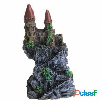 Mini Castelo Aquário Naufragado Lindo modelo 2