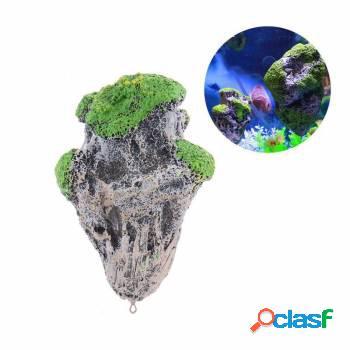 Enfeite decoração aquário - rocha flutuante