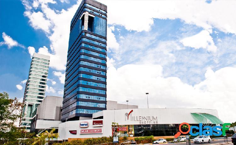 Aluga ou vendo 02 salas comerciais no millennium center em manaus amazonas -am