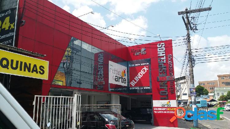 Alugo excelente loja no centro com 1.400 m2. manaus, amazonas. am.