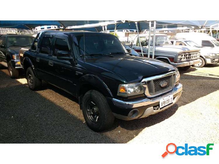 Ford ranger xlt 4x4 3.0 (cab dupla) - tapejara
