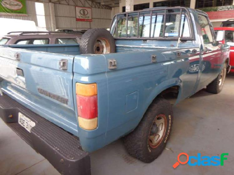 Chevrolet d20 pick up custom luxe 4.0 (cab simples) - Cascavel 2