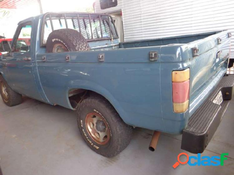 Chevrolet d20 pick up custom luxe 4.0 (cab simples) - Cascavel 3