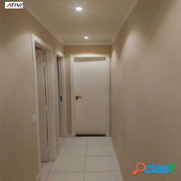 Apartamento 2 dorm, salão festas, churrasq. no galo branco