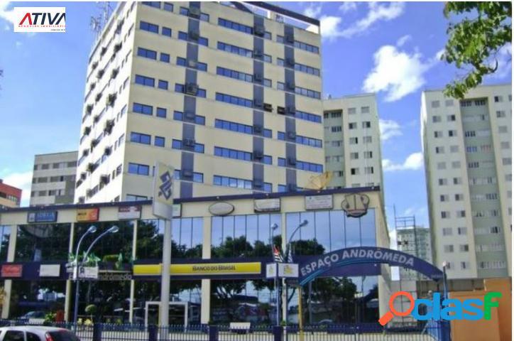 Sala comercial- jd. satélite, 3 ambientes, frente com andrômeda, excepcional localização