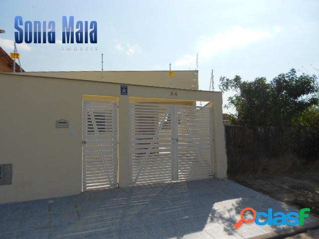 Linda casa geminada - 400 mts da praia