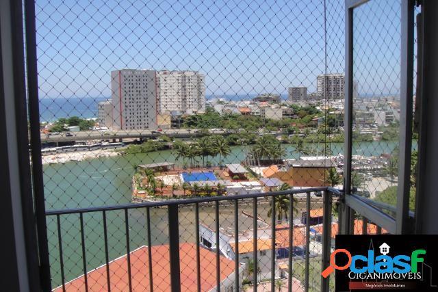Barrinha - 3Qts - 116m² - Vista fronta Lagoa