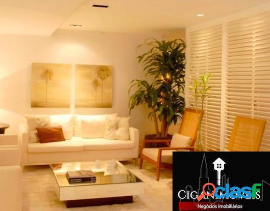 Jardim oceânico - 4qts (3suítes) - decorado - 225m²