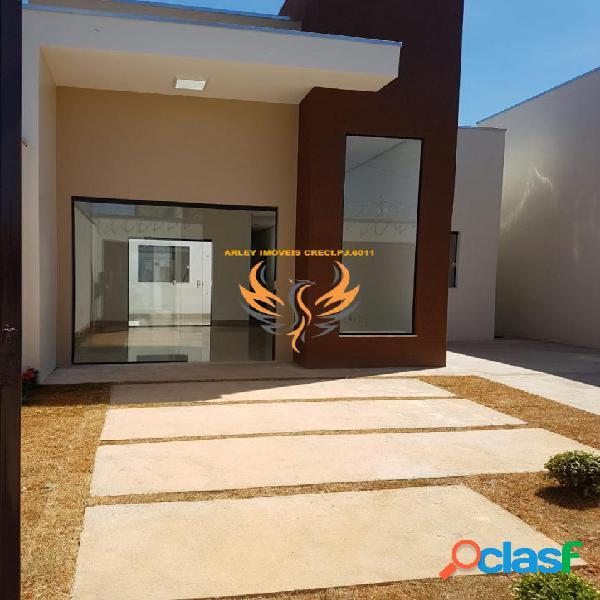 *casa moderna fino acabamento no ibituruna *
