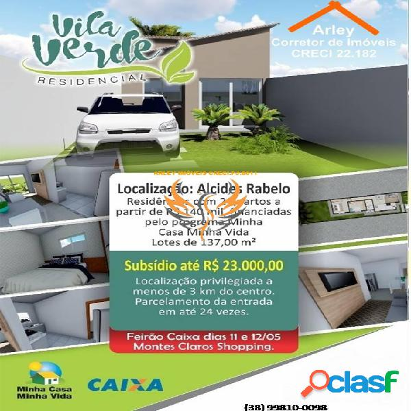 Alcides rabelo * oportunidade única de adquirir sua casa*