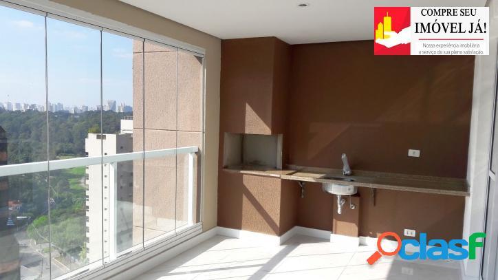 Apartamento com 3 dormitórios, 01 suíte no panamby