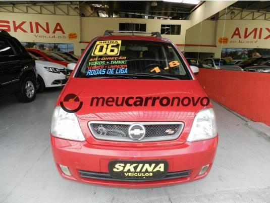 Chevrolet meriva ss 1.8 mpfi 8v flexpower 5p 2006/2006