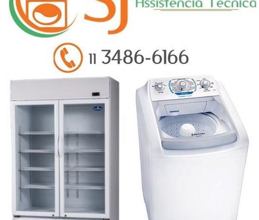 Conserto de geladeira, lavadora, câmara fria e balcão