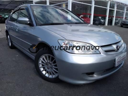 Honda civic sedan lxl 1.7 16v 130cv aut 4p 2004/2005
