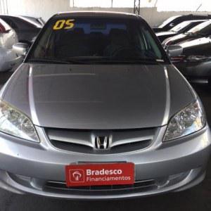 Honda civic sedan lx 1.7 16v 115cv mec. 4p 2005