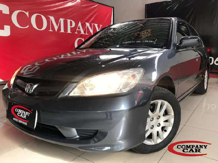 Honda civic sedan lx/lxl 1.7 16v 115cv aut. 4p