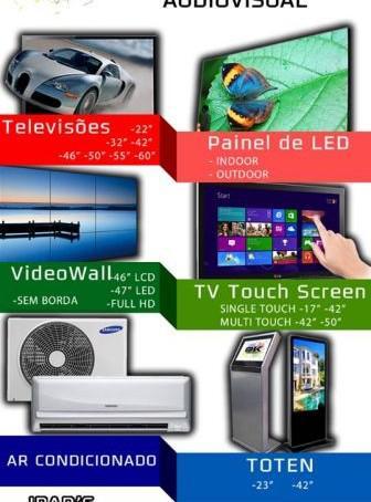 Locação de video wall, painel de led,telas de led