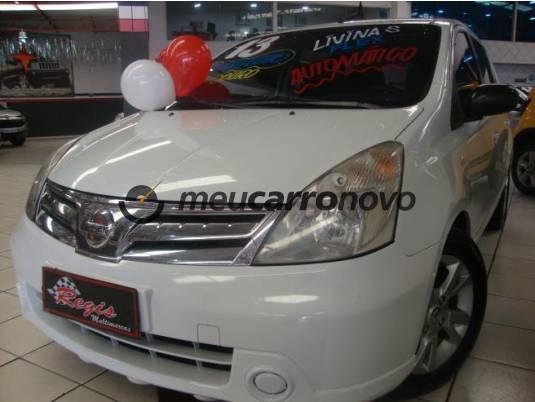 Nissan livina s 1.8 16v flex fuel aut. 2012/2013