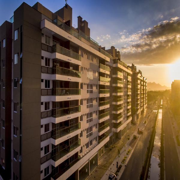 Recreio-rj, maui residencial, apartamento no pontal