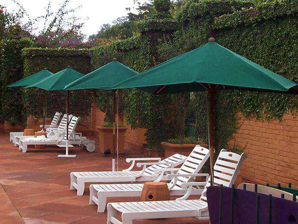 Troca de tecidos de ombrelones / reformas de ombrelones /