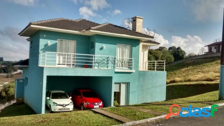 Linda casa em condomínio alto padrão - campo largo