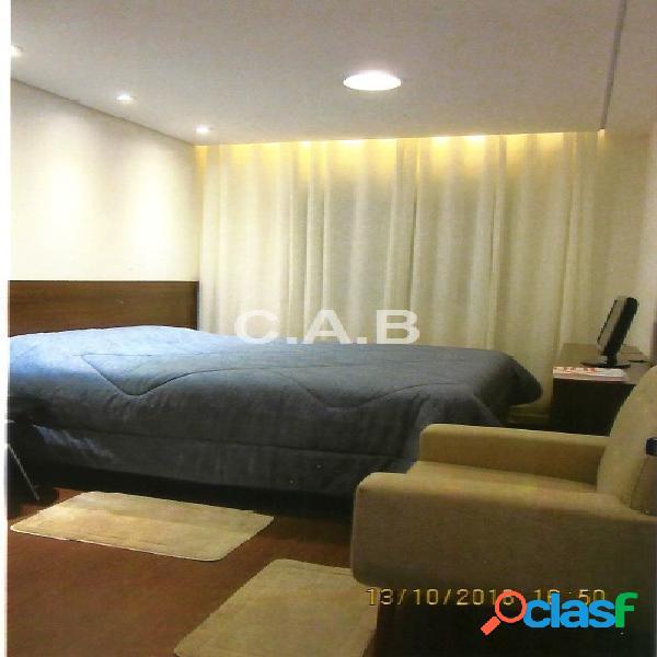 Apartamento hit alphaville mobiliado 1 dormitório