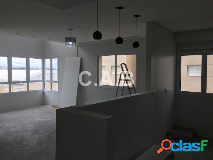 Apartamento mobiliado duplex alpha park 2 suítes 2 vagas