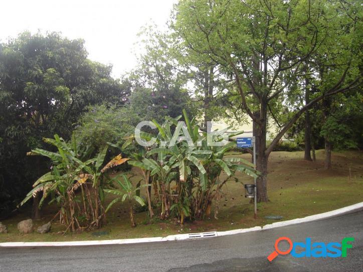 Terreno de esquina com 407m² no residencial 03 em alphaville