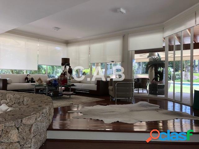 Casa no residencial zero - alphaville- 4 suites
