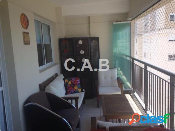 Apartamento lindo e decorado no condomínio alpha vitta