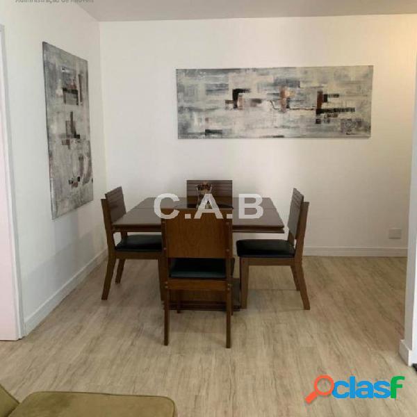 Apartamento mobiliado para locação splendya 1 alphaville