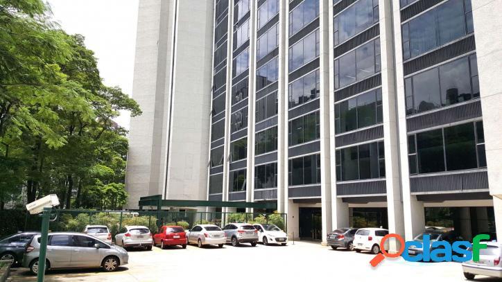 Aluga-se sala comercial 375 m2 com gerador - berrini