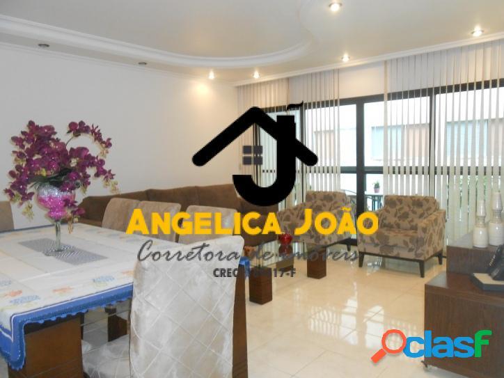 Apartamento 3 dormitórios com dependência completa - Itararé