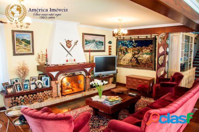 Linda casa em campos do jordão condomínio florestal club