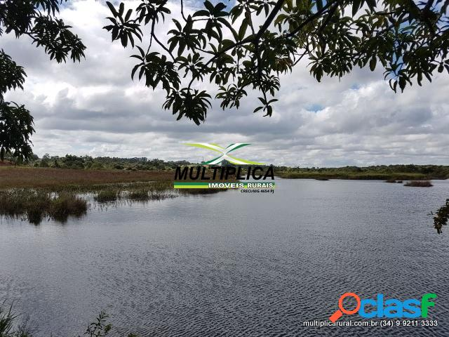 Sítio uberlândia 24,2 ha 5 alq área comercial pista dupla
