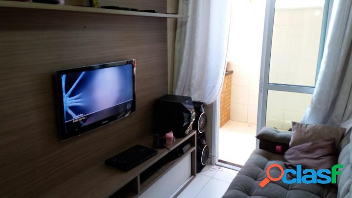 Apartamento mobiliado 53 m² com 2 quartos em santo andré por r$ 300.000,00