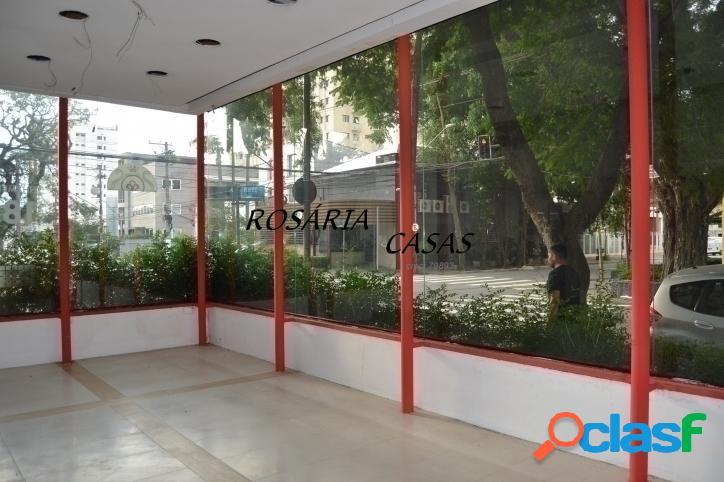 Moema indios- esquina - locação comercial com 340 m² de area