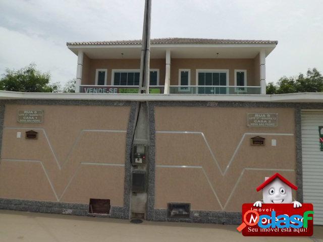 Casa 3 quartos, 2 suíte em são pedro aldeia-rj