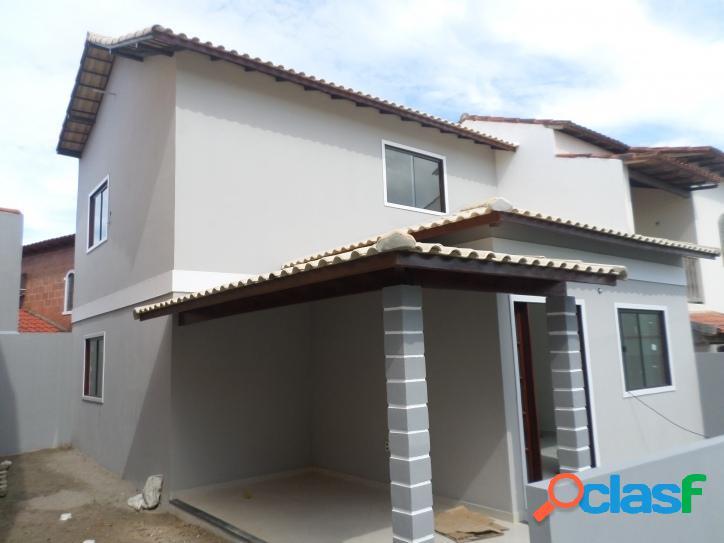 Linda casa duplex, 3 q, cond. fechado, s.pedro da aldeia, rj