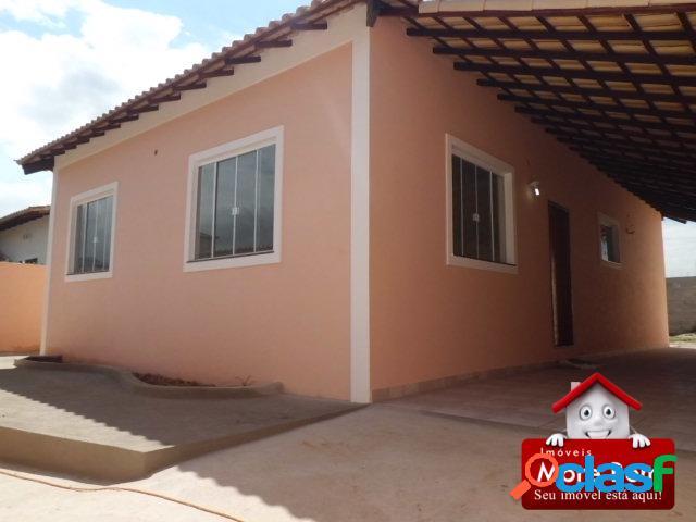 Casa nova para moradia ou veraneio na região dos lagos/rj.