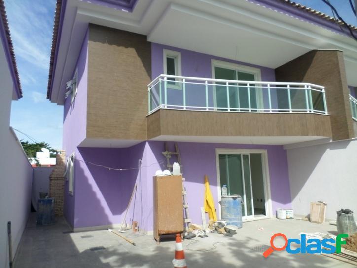 Casa duplex 3 quartos (1 suíte) palmeiras - cabo frio/rj