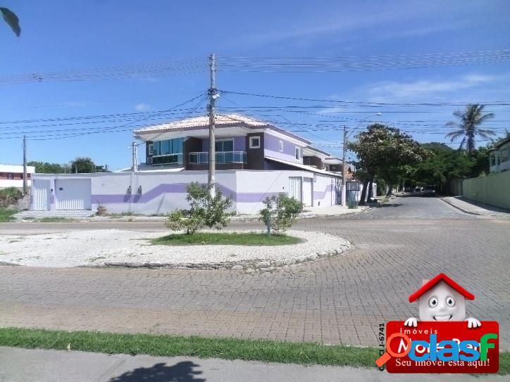 Casa duplex 4 quartos (1 suíte) palmeiras - cabo frio/rj