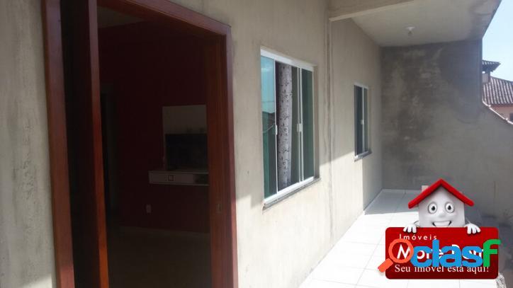 Linda casa tipo apartamento, 2 q - são pedro da aldeia, rj