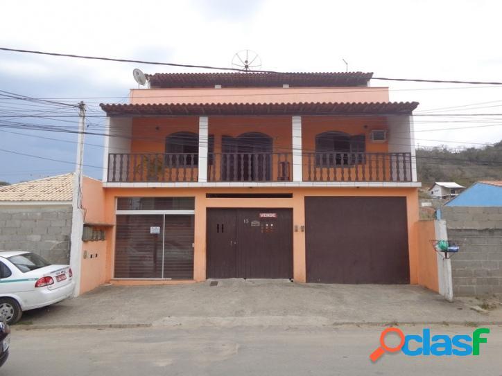 2 casas + 1 kit net + 1 loja em condomínio são pedro aldeia