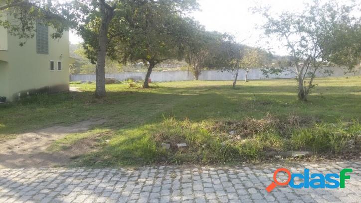 Terreno em cond., 530 m², recanto do sol, s.p.da aldeia, rj