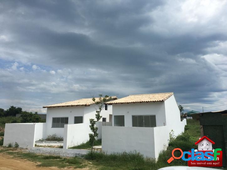 Casa 2 quartos-quintal-são pedro da aldeia-rj