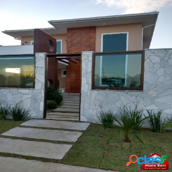 Casa duplex alto padrão em são pedro da aldeia/rj.