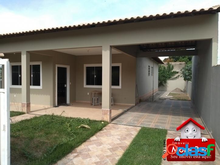 Casa nova, 2q, 1 suite, bal. conchas, s.p.da aldeia, rj